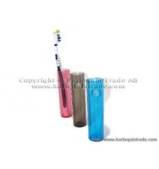 Tandborsthållare med sugpropp