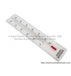 Thermometer with print