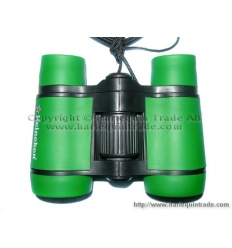 Binoculars with print