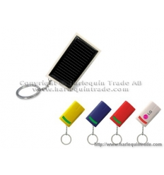 Solar charger with print