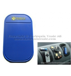 Anti slip mobile mat with print