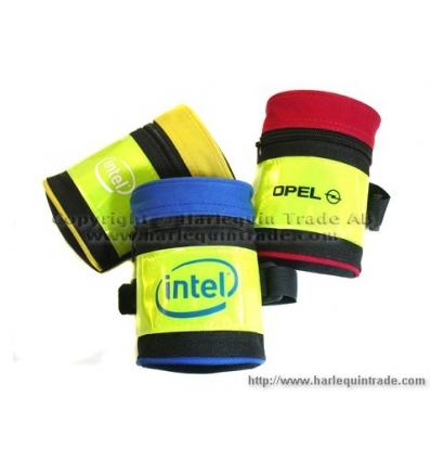 Reflexarmband med ficka