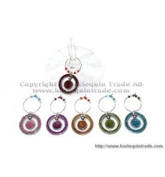 Wine charms - circle