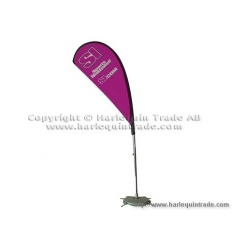Fly banner with print