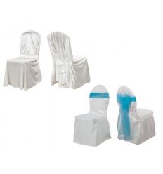 Överdrag för stolar - Satäng