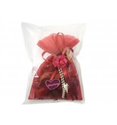 Potpourri in lace bag