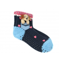 Socks with dog