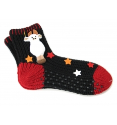 Socks with cow