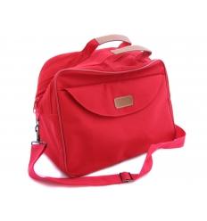 Resväska röd