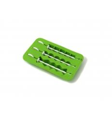 Ice tray with 3 sticks