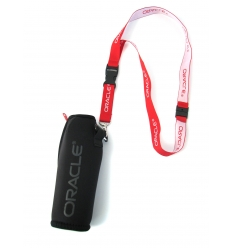 Neoprene holder with lanyard