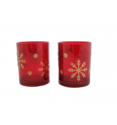 Candle holder set in 2 pieces