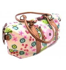 Canvas flower bag