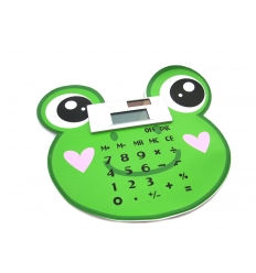 Calculator with frog design