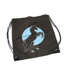Drawstring bag - horse design