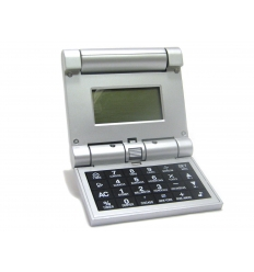 Foldable world time calculator