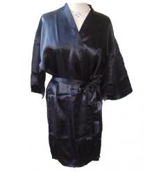 Svart kimono