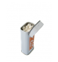 Spearmints in tin box