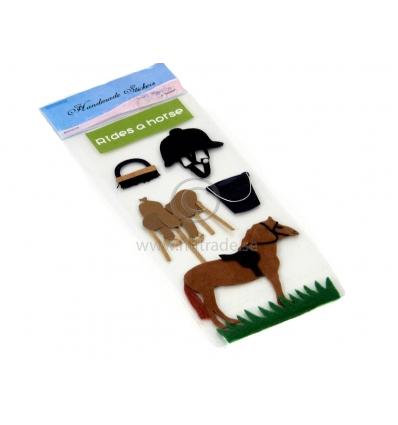 Ride a horse klistermärke