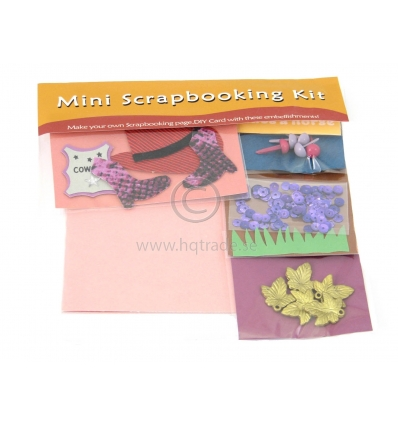 Mini scrapbooking set