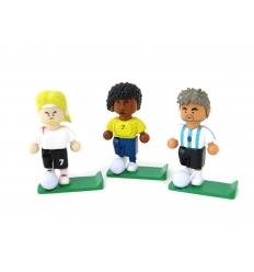 Pennhållare i form av fotbollsspelare