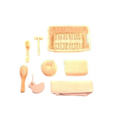 Bath and massage set
