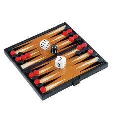 Backgammon spel, magnetiskt
