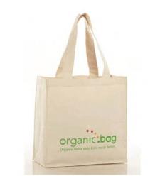 Shopping bag i organiskt bomull