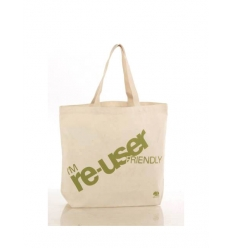 Promotion bag in organic cotton