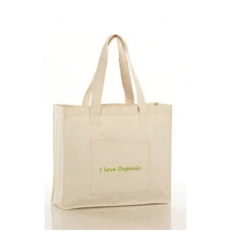 Grocery bag in organic cotton