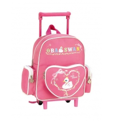 Travelbag with wheels for children
