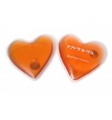 Heartshaped hand-warmer