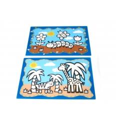 Bordstablett - vattenmålning