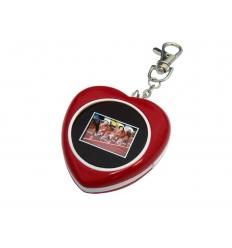 Digital fotoram - hjärtformad
