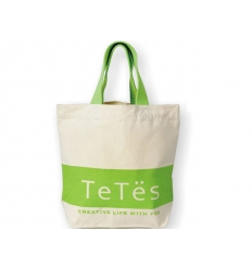 Cotton twill shopping bag