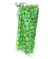 Lång sarong med mönster