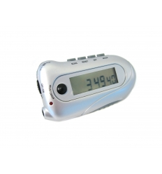 Pedometer with radio