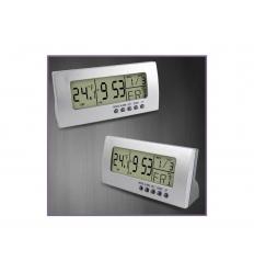 Multifunktionell LCD klocka