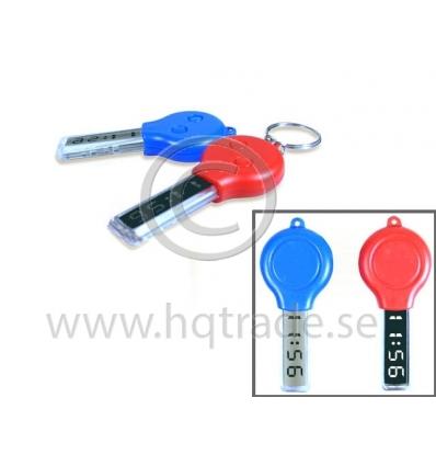 Keyring watch in key design