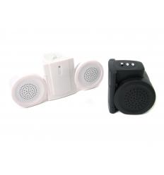 Vikbara högtalare