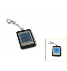 Digital fotoram i nyckelring