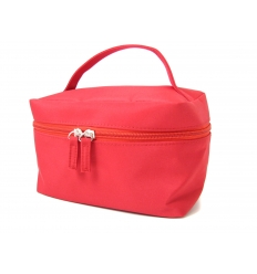 Röd vanity väska