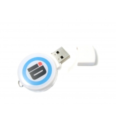 USB flash drive - round shaped