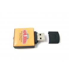 USB flash drive - Square shaped