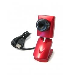 Röd webbkamera