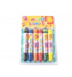 Marker pen with stamp set