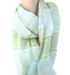 Jaquard shawl
