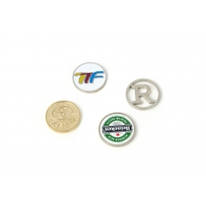 Coins with logo