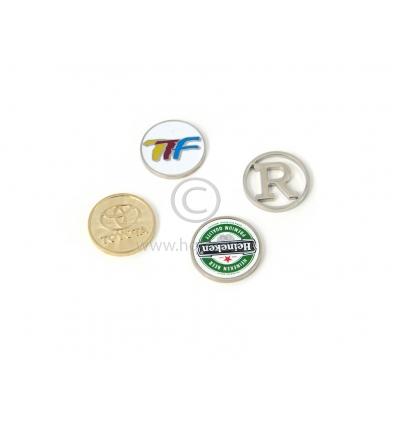Kundvagnsmynt med logo - Import   tillverkning för promotion 04a7defa25cf7