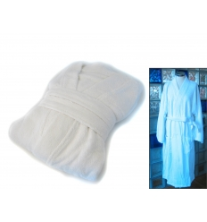 Environmental friendly bamboo fiber bathrobe